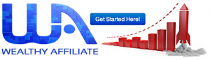 wealthy affiliate get started button