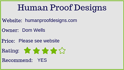 human proof designs rating