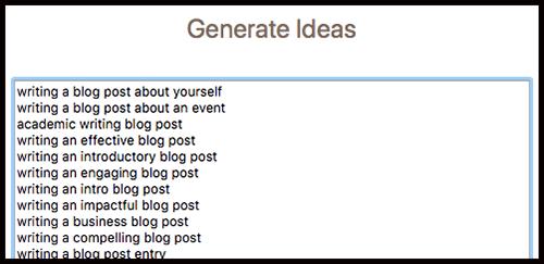 more blog ideas to future