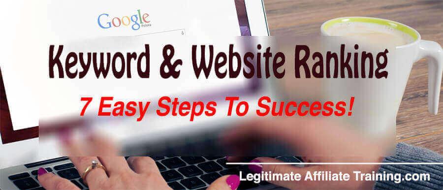 Keyword and Website Ranking