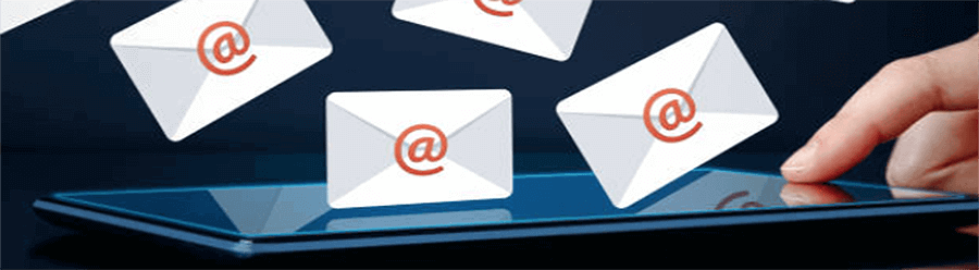 electronic mail for email marketing