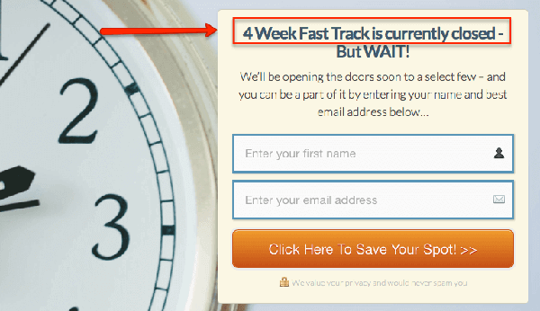 is 4 week fast track worth it