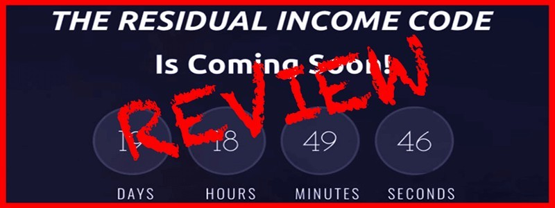 What is the Residual income code?