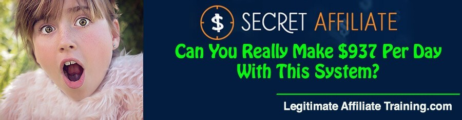 What Is The Secret Affiliate About?