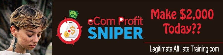 What Is The Ecom Profit Sniper? (Review)