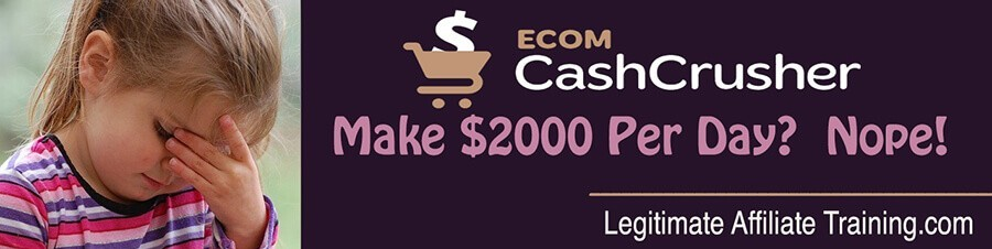 The Ecom Cash Crusher (Review)