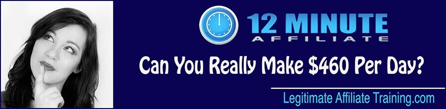 What Is The 12 Minute Affiliate? (Review)