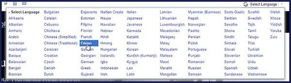bonus of including 15+ languages