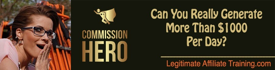 Commission Hero Affiliate Marketing Promotions June 2020