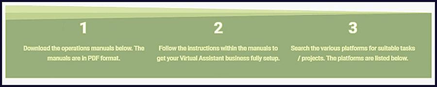 freelance virtual assistant work