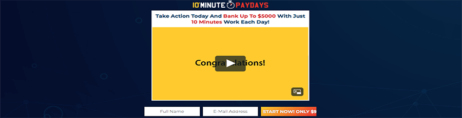 what is a 10 minute paydays