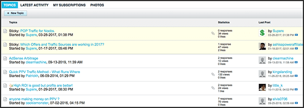 vault affiliates can ask questions in the forum