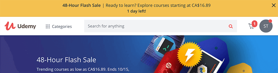 Udemy academy has beginner to advanced courses