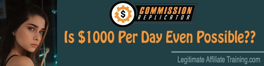 What Is The Commission Replicator?