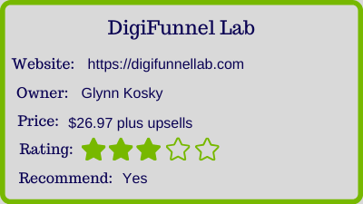 the digifunnel lab review - rating