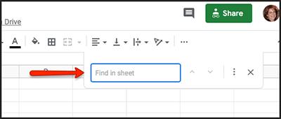 google doc search