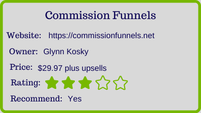 commission funnels review rating