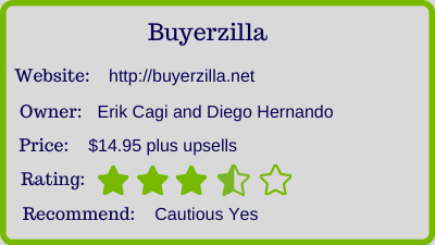 the buyerzilla review - rating