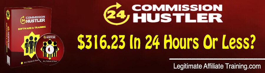 The 24h Commission Hustler