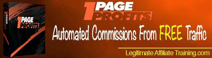 1-Page Profits Review